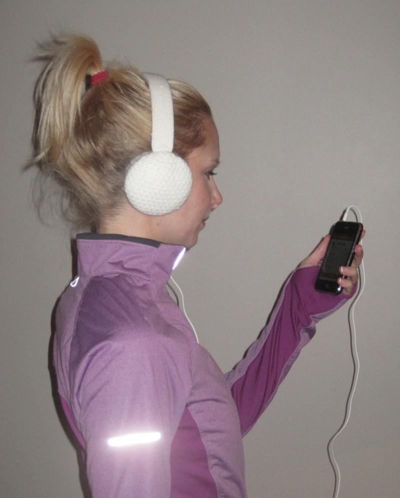 Lobers ear muff headphones