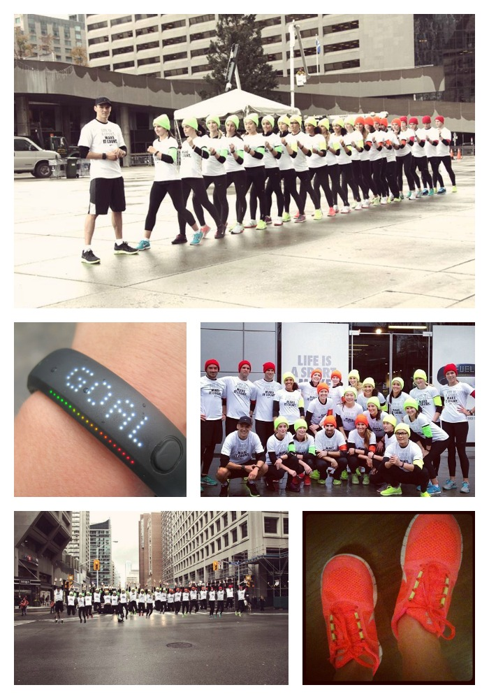 Nike+ FuelBand launch in Canada