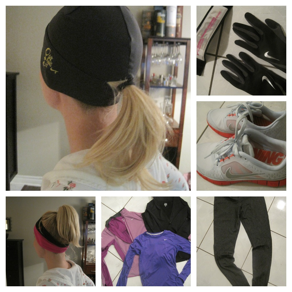Winter running gear from Nike