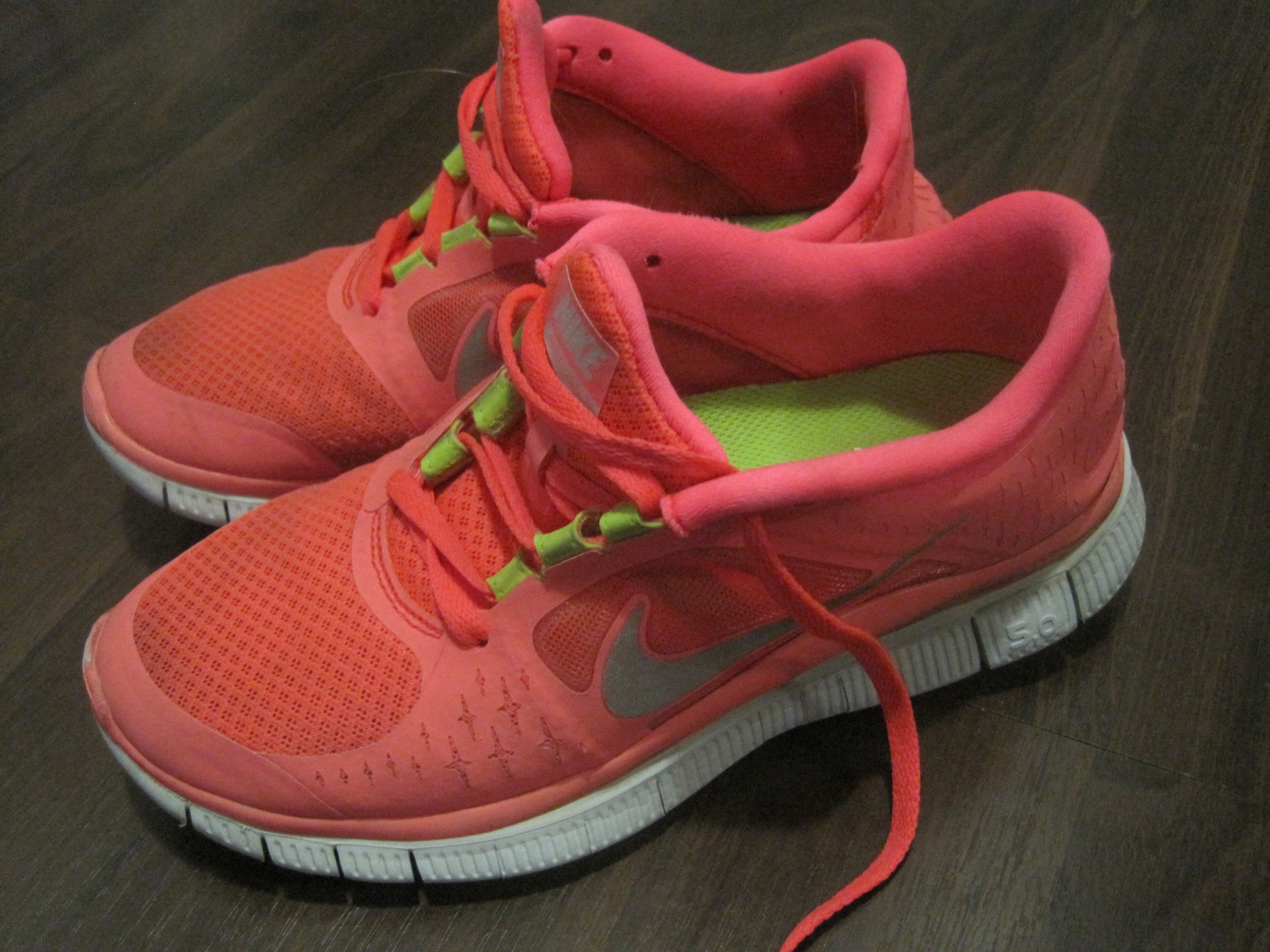 How to wash your running shoes