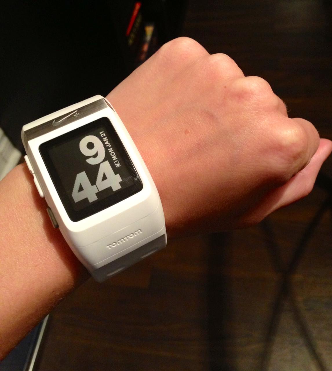 Nike+ GPS sportwatch review