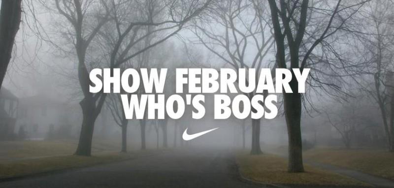 nike ad february