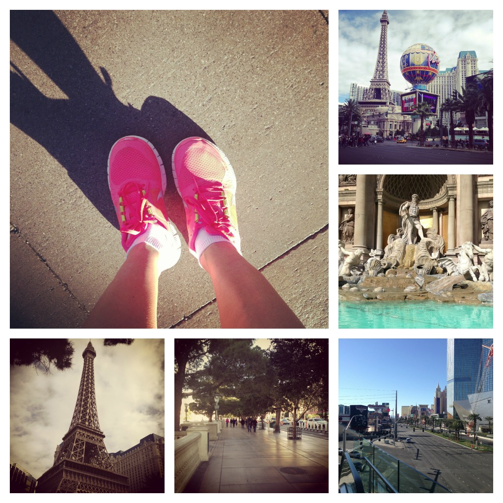 Running in Las Vegas