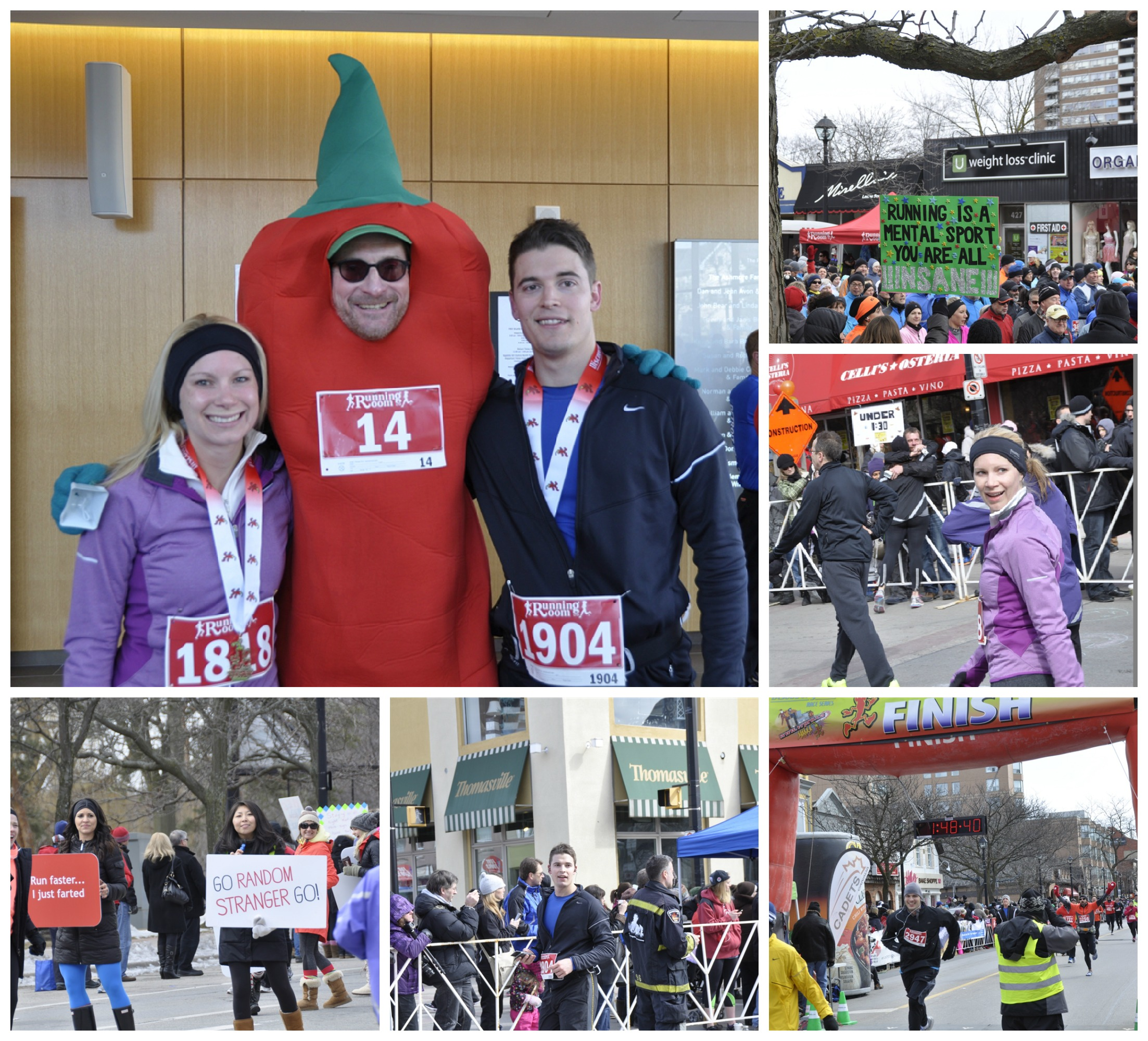 Chilly Half marathon race pictures