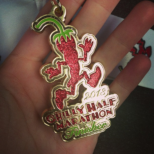 Chilly Half Marathon 2013