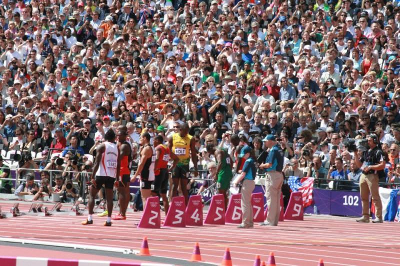 Usain Bolt at 2012 London Olympics