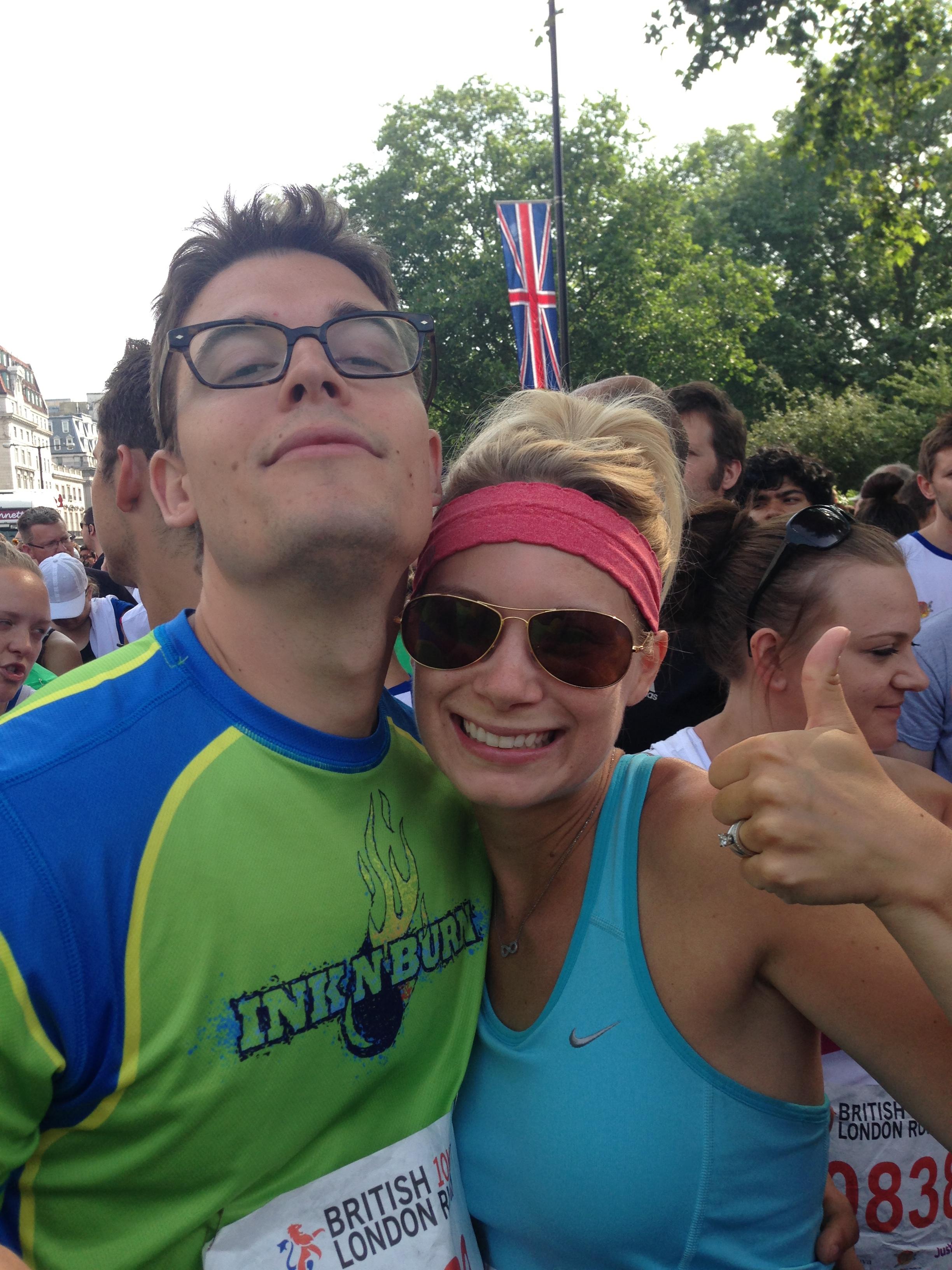 British 10K London Run 2013