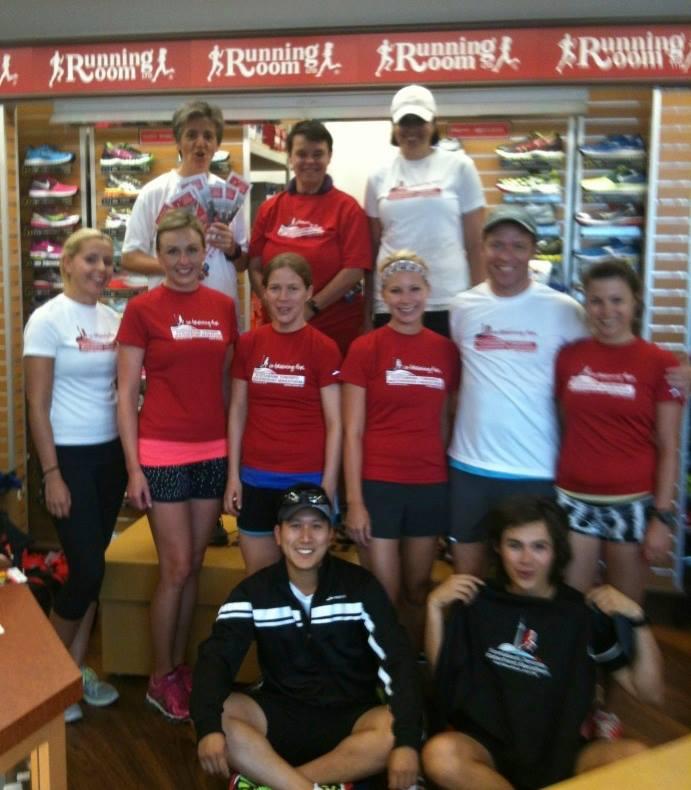 The Liberty Village Marathon Training Clinic