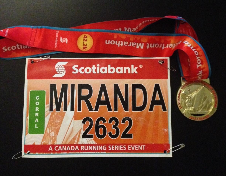 STWM 2013 Race Bib and Medal