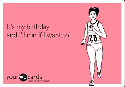 birthday run
