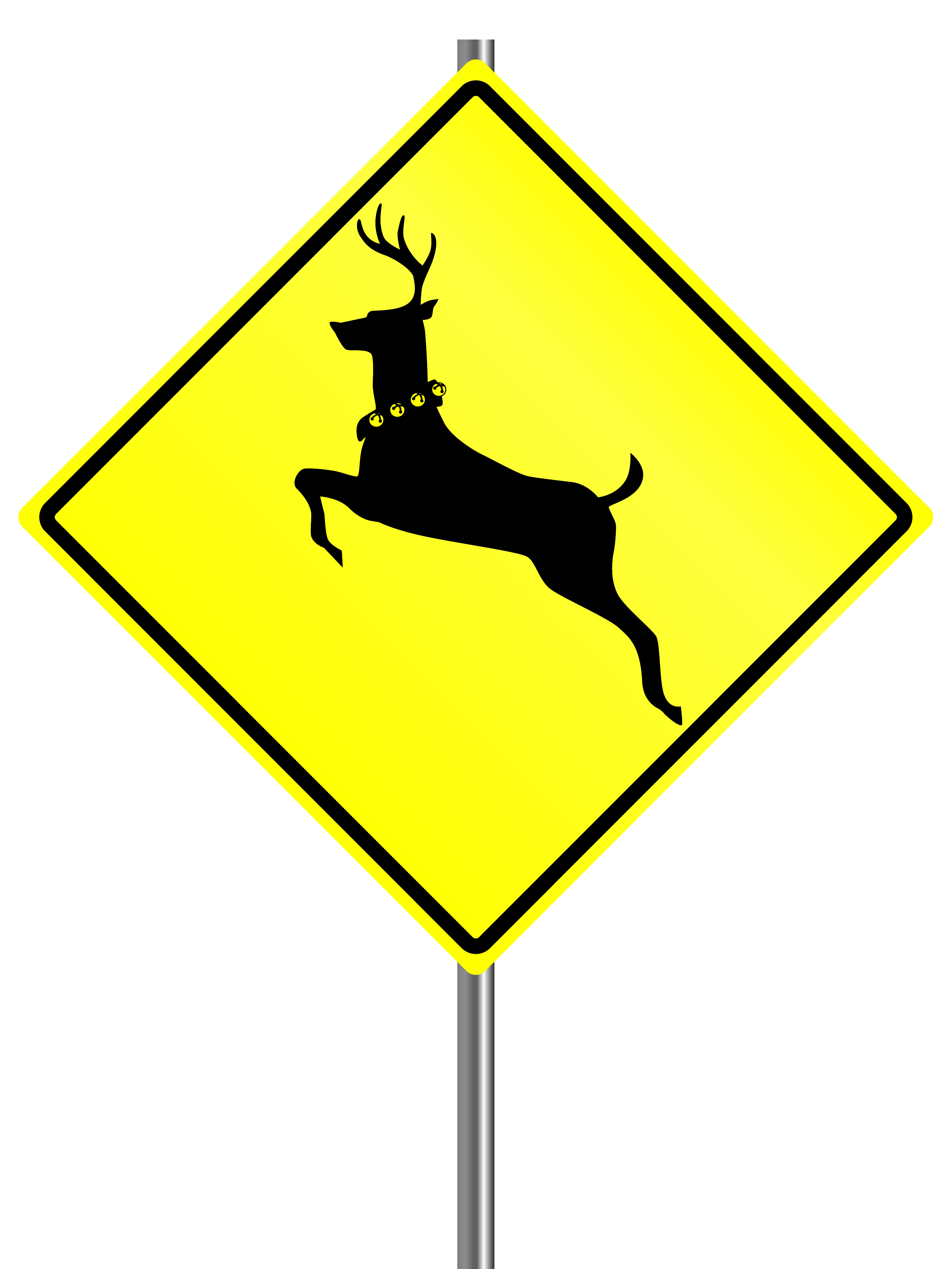 Dear runners: watch the skies... for flying deer!
