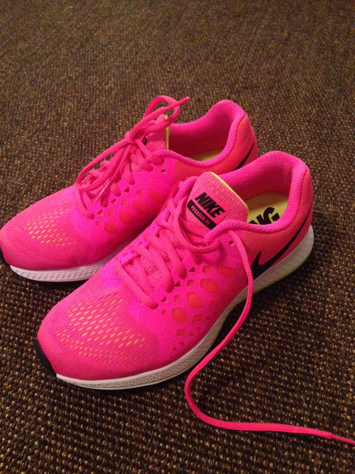 Can't get motivated? Get some new shoes! The brighter, the better!