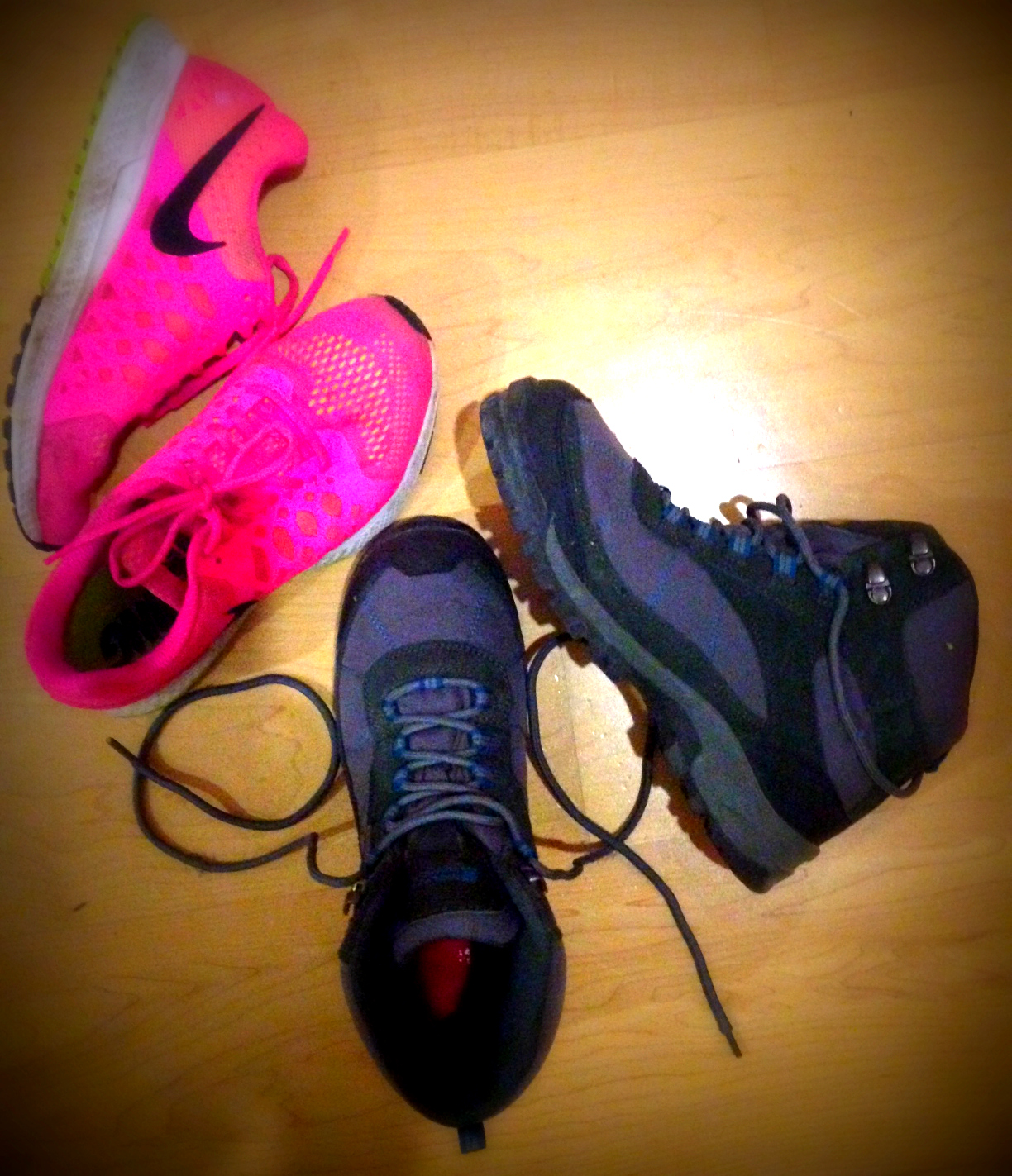Why can't they make pink hiking boots??