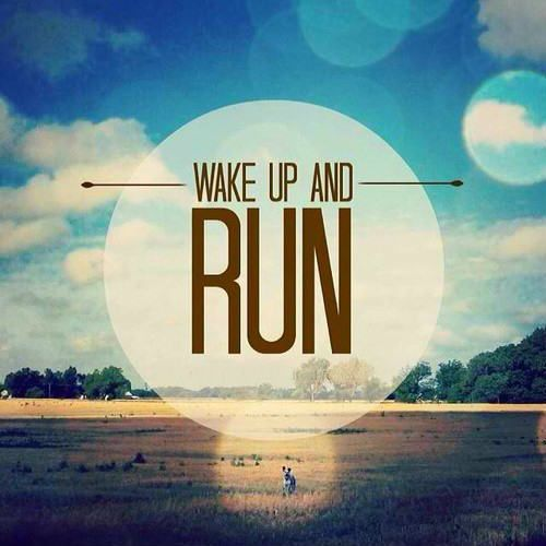 wake-up-and-run