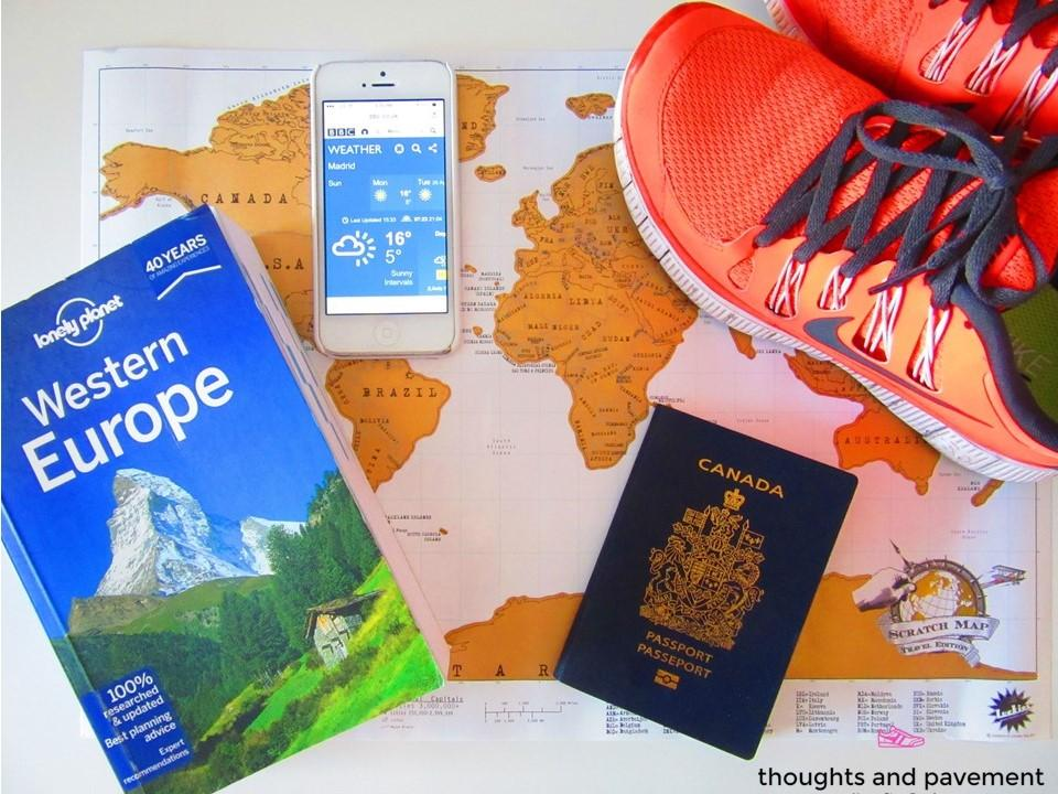 How to prepare for a race abroad
