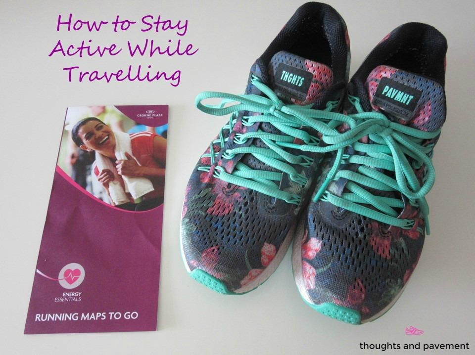 how to stay active while travelling