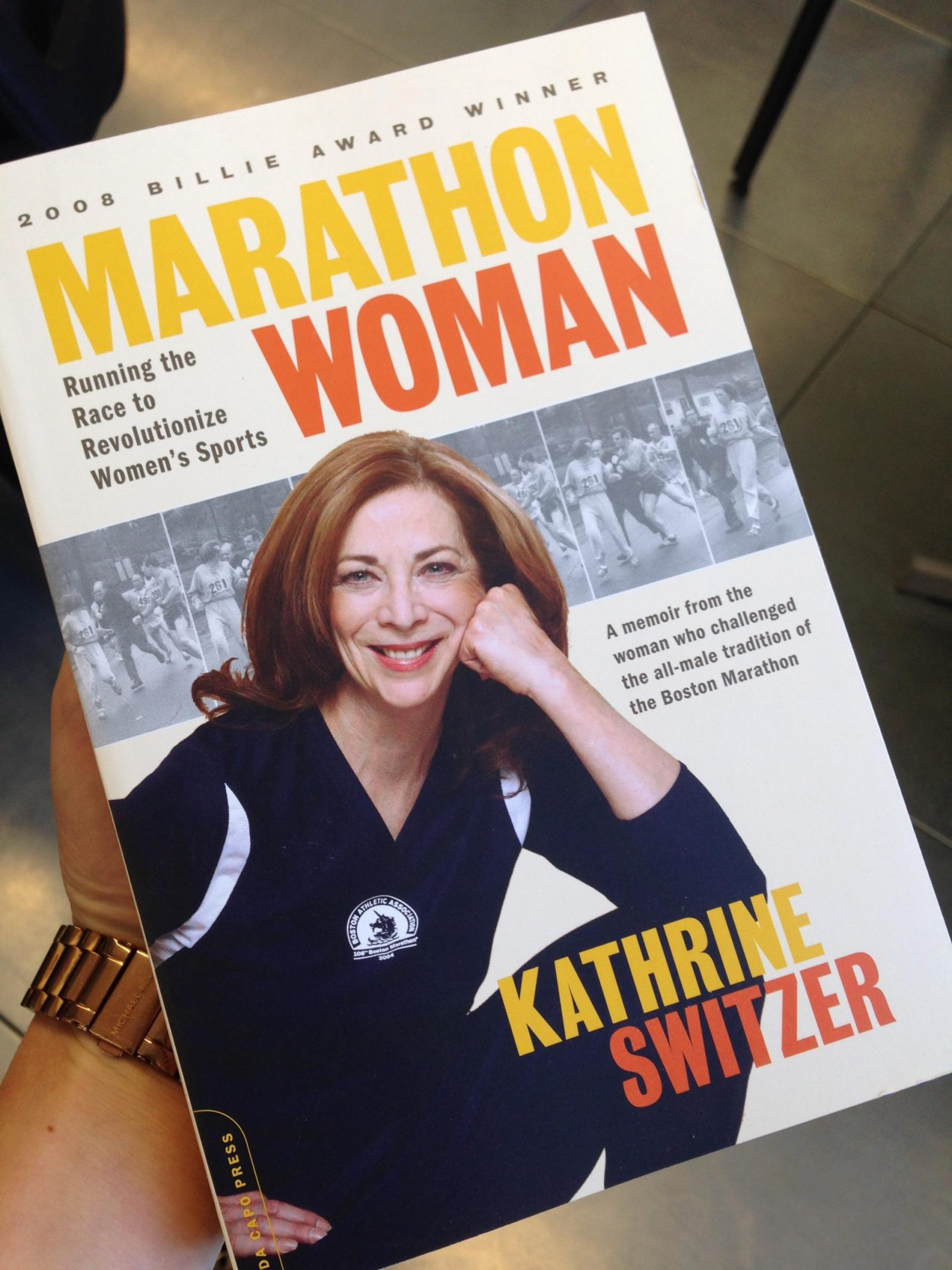 Marathon woman book turned