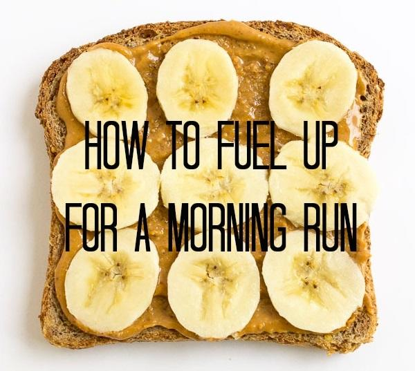 How to fuel for a morning run