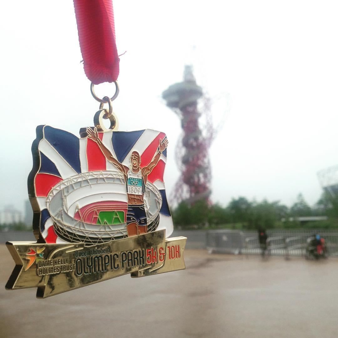 Olympic Park 10K medal