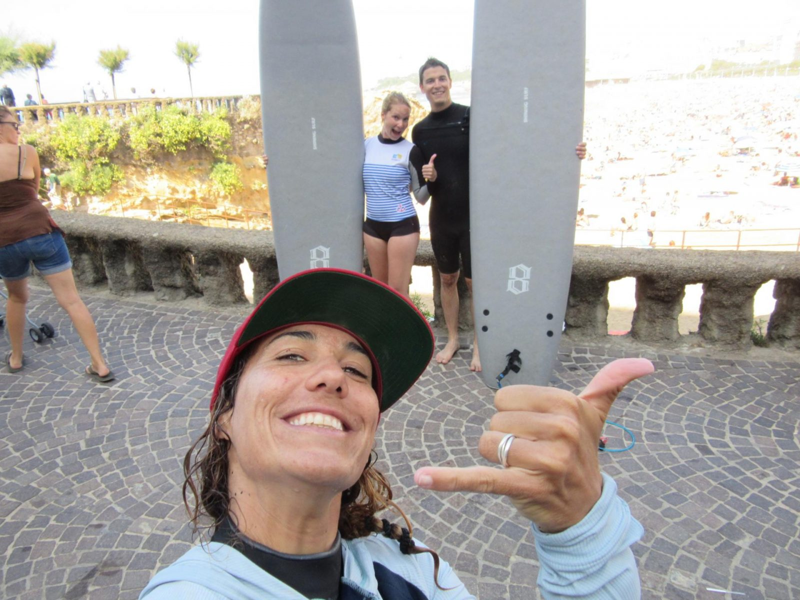 Amandine, our surf instructor in Biarritz