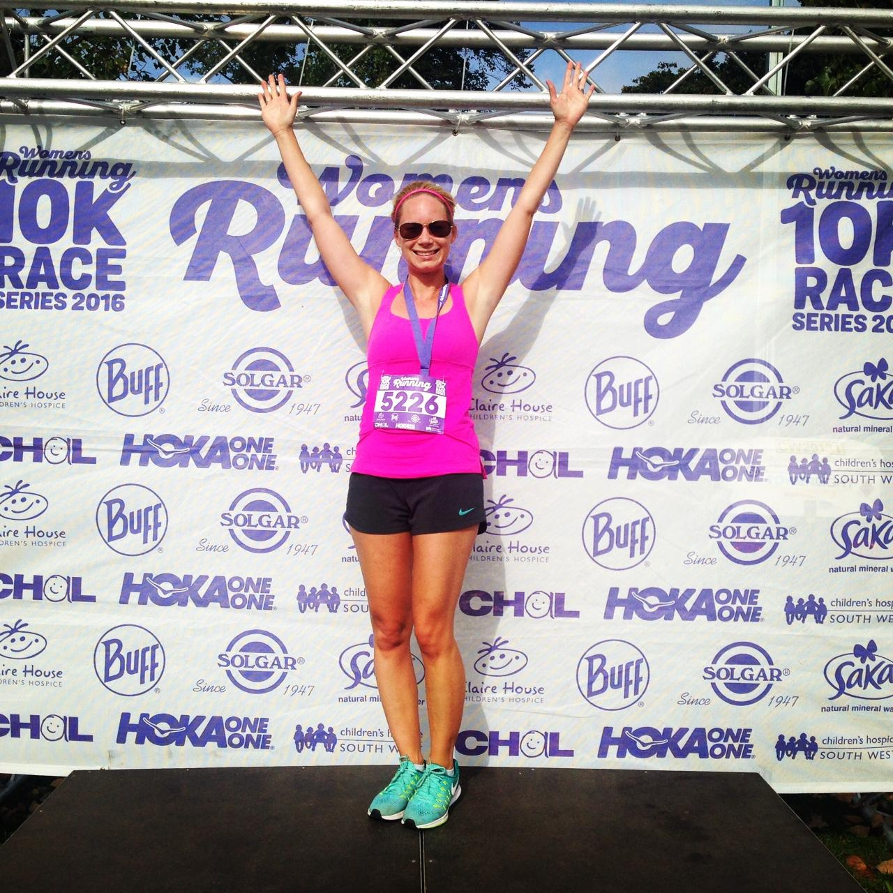 women's running 10K finsbury park