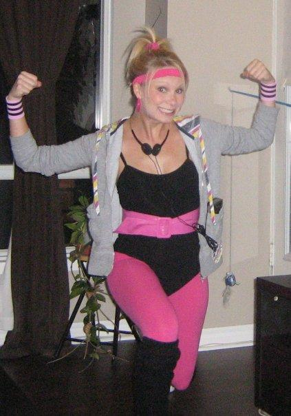 80s aerobics instructor Halloween