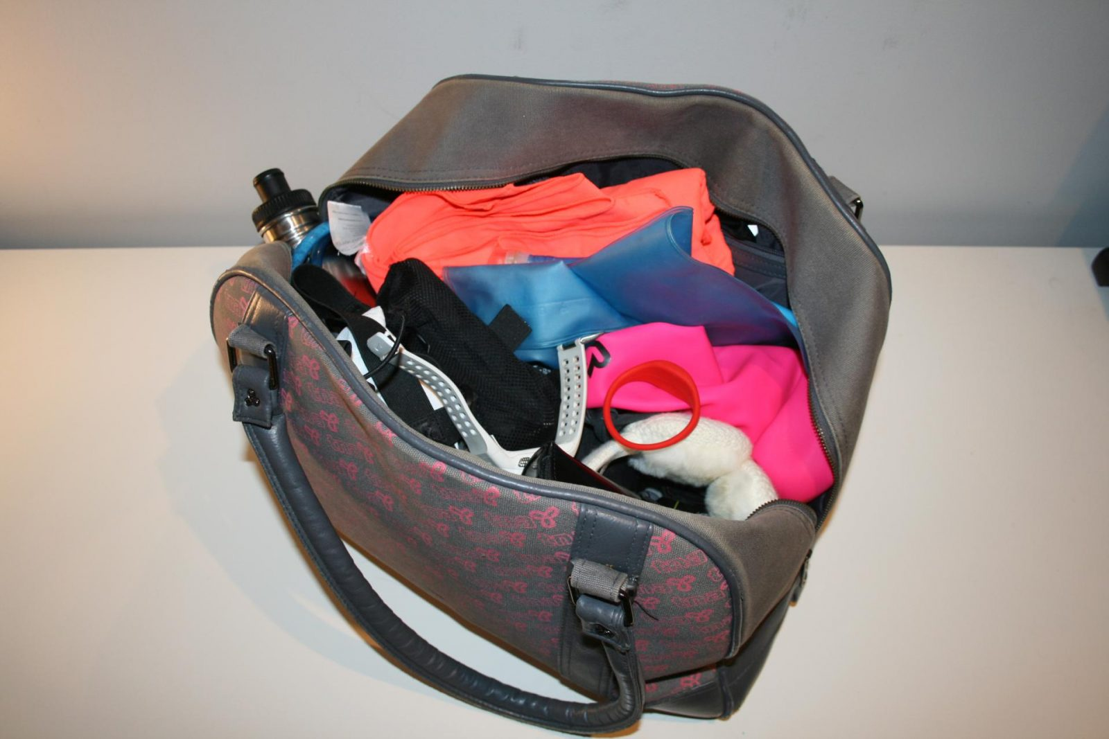 My gym (storage) bag