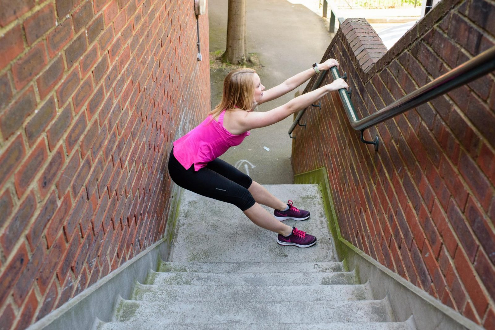 Stair climbing for runners
