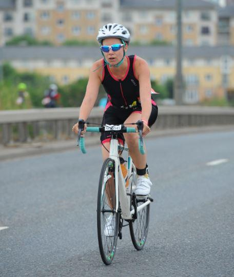 The London Triathlon cycle