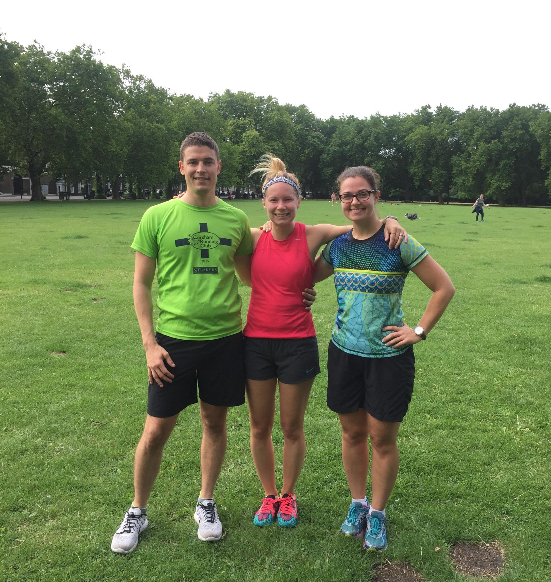 Parkrun Highbury Fields