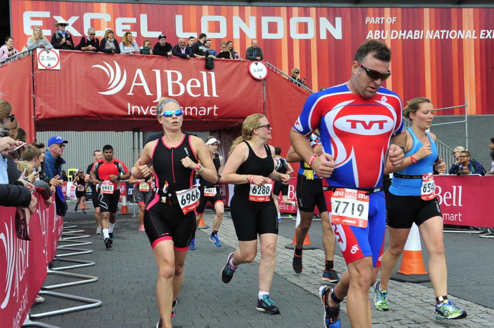 The London Triathlon Run
