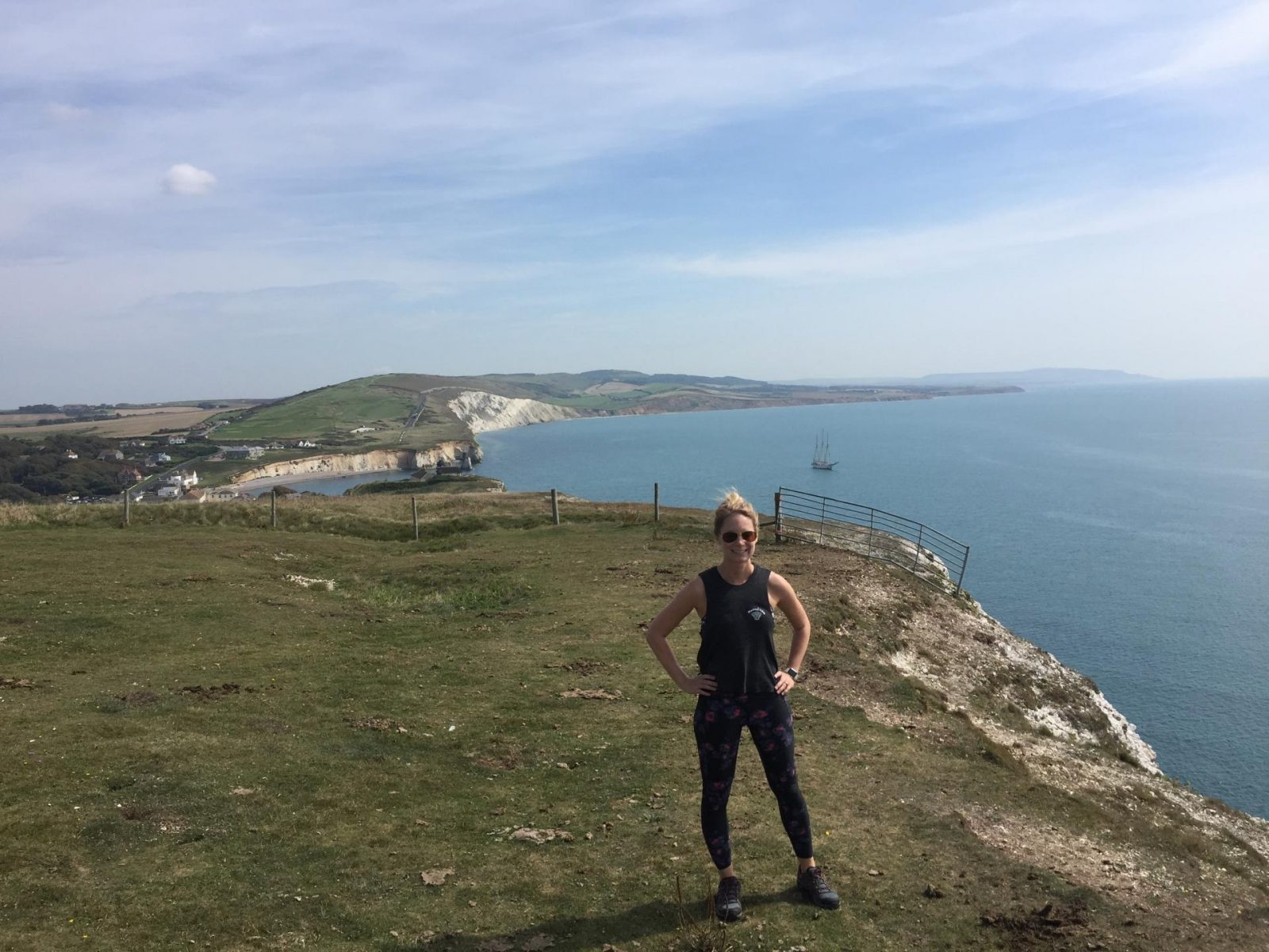Hiking in the Isle of Wight