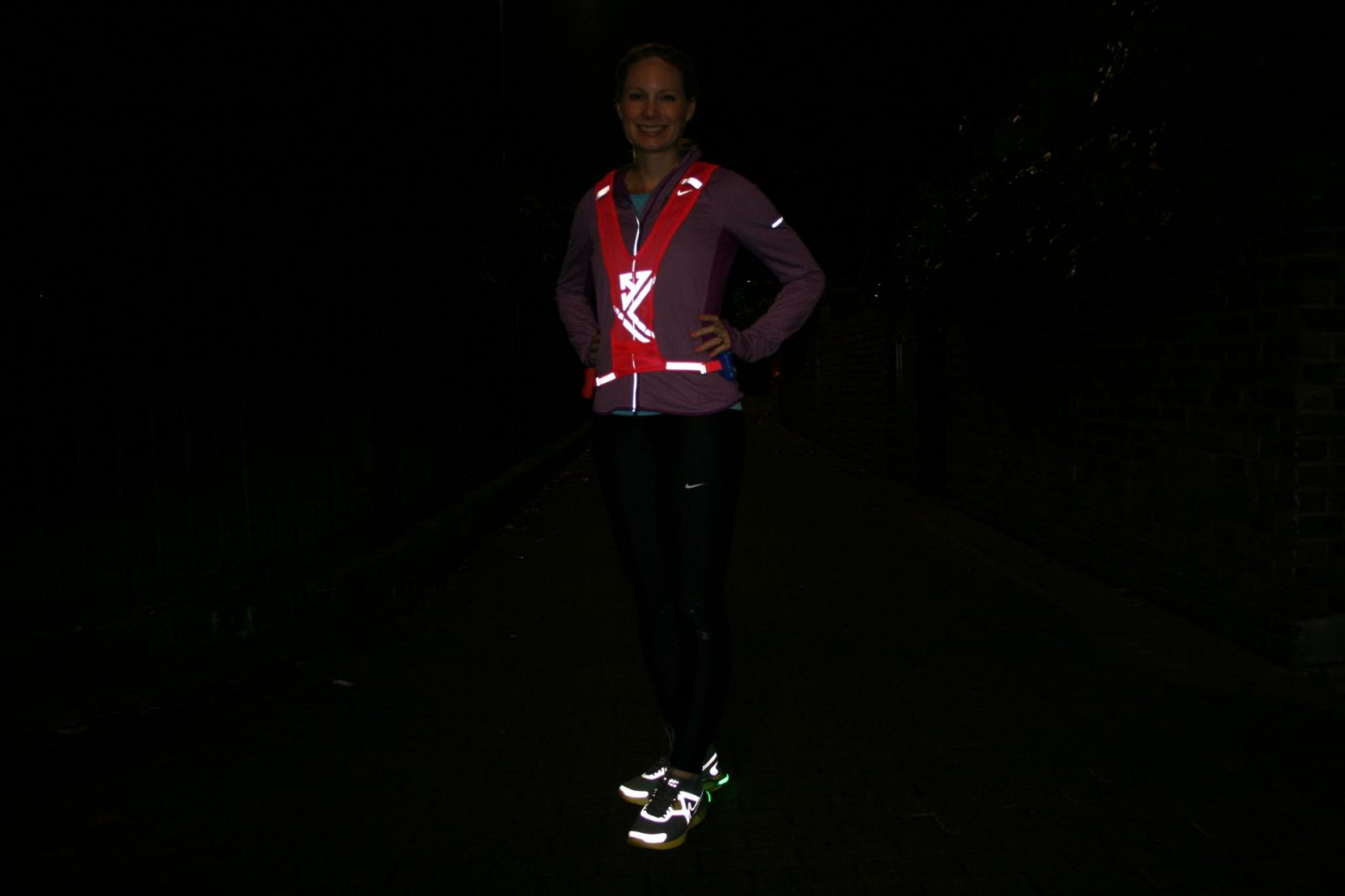 High visibility running kit