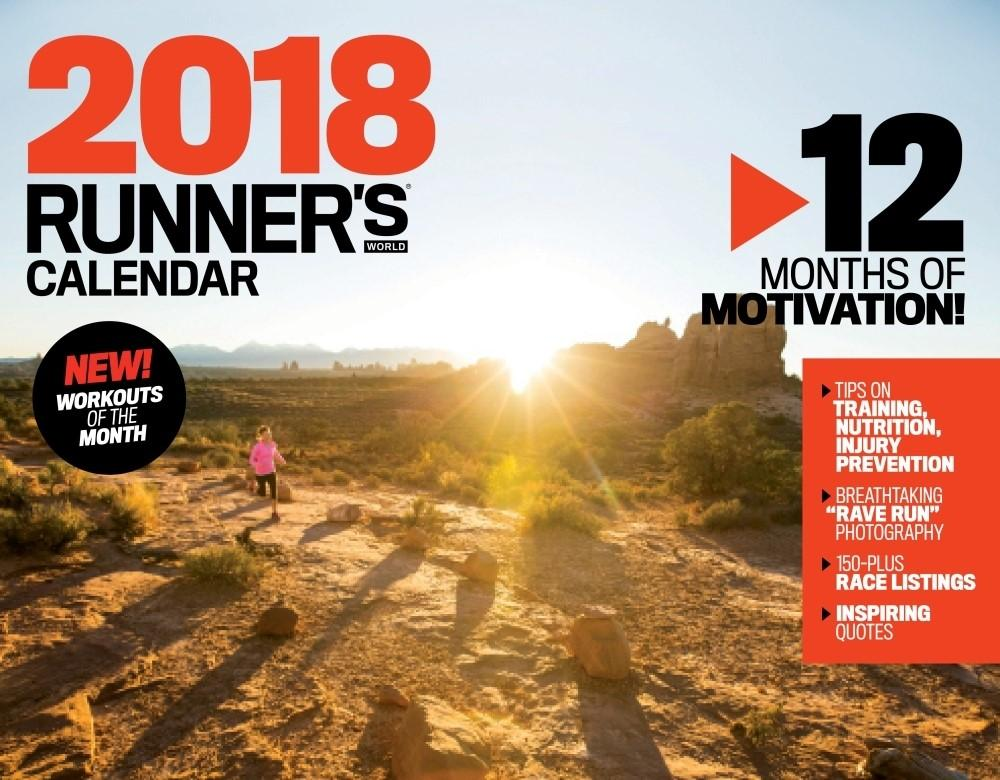 Runners World calendar 2018