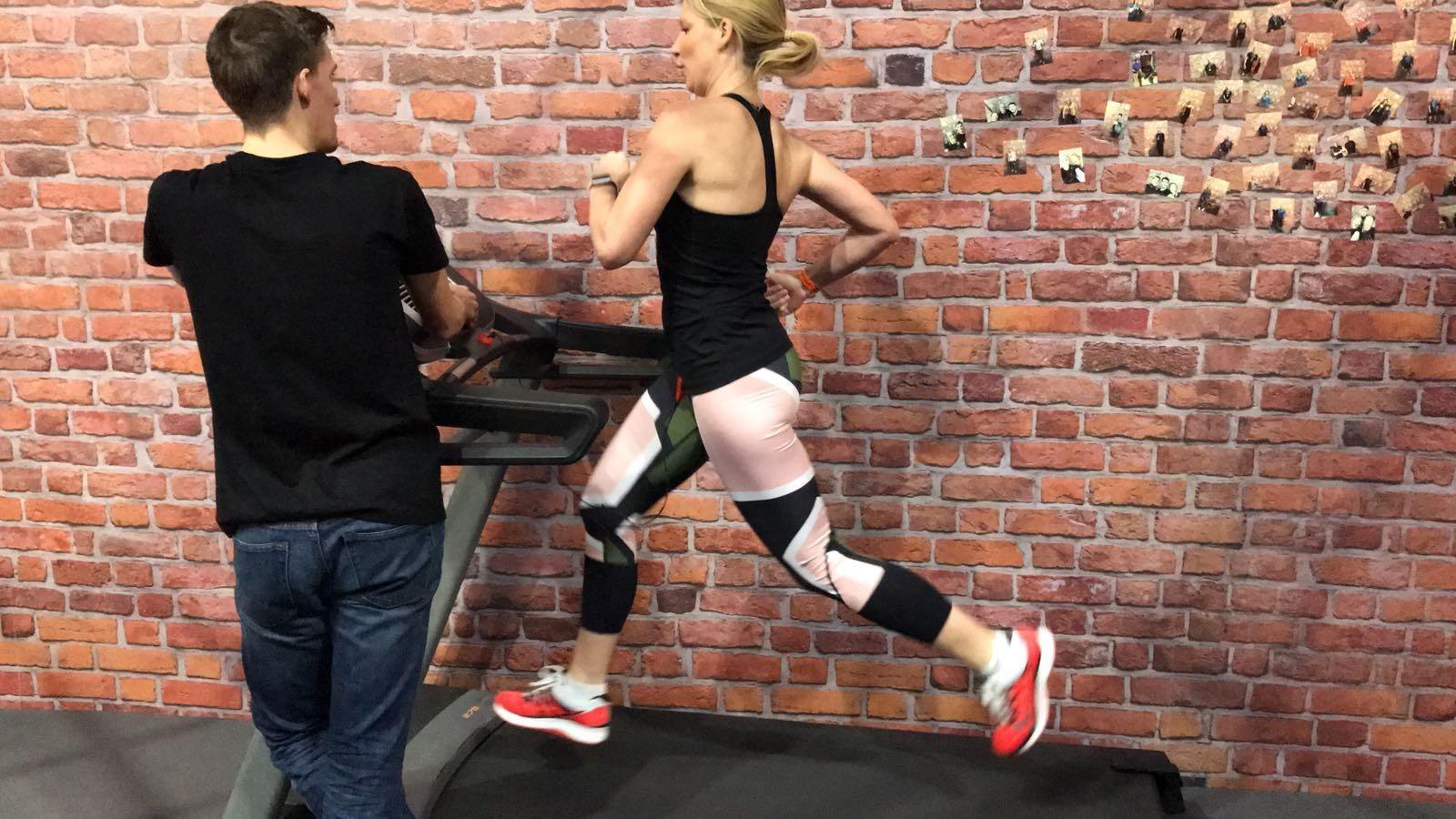 Saucony Treadmill Challenge