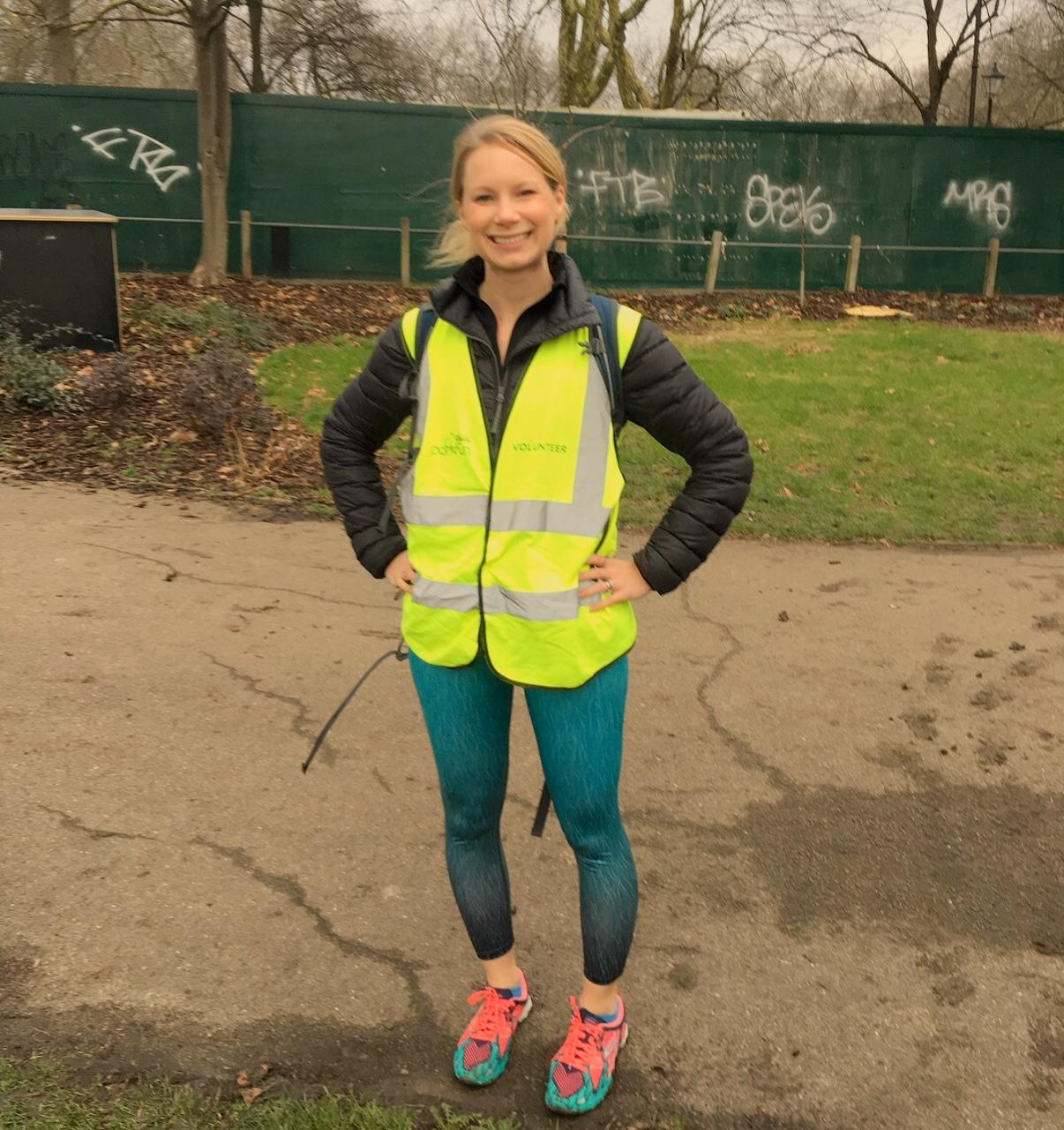 Volunteering at Parkrun