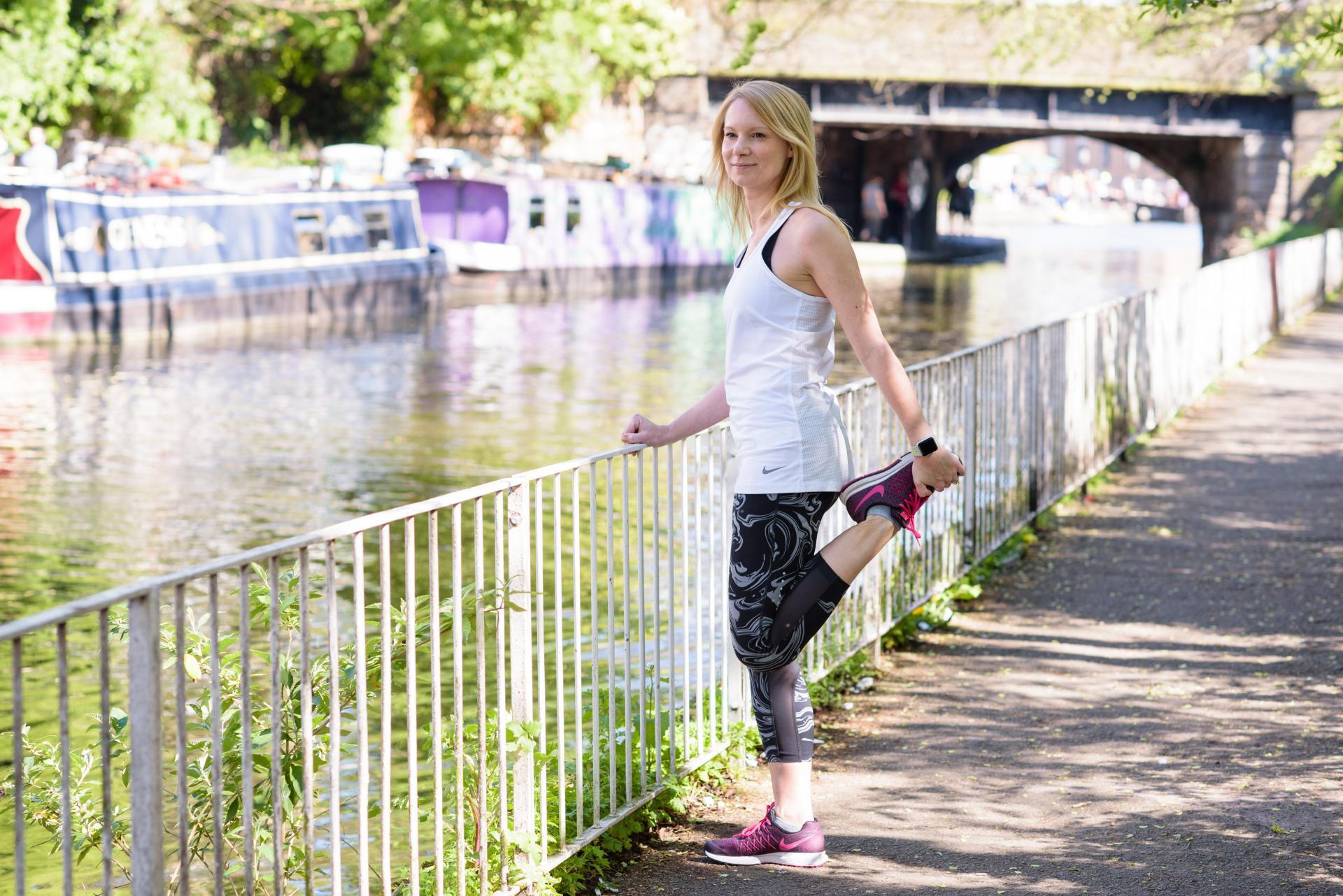 Runner on Regent's Canal