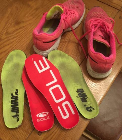 SOLE active medium footbed review