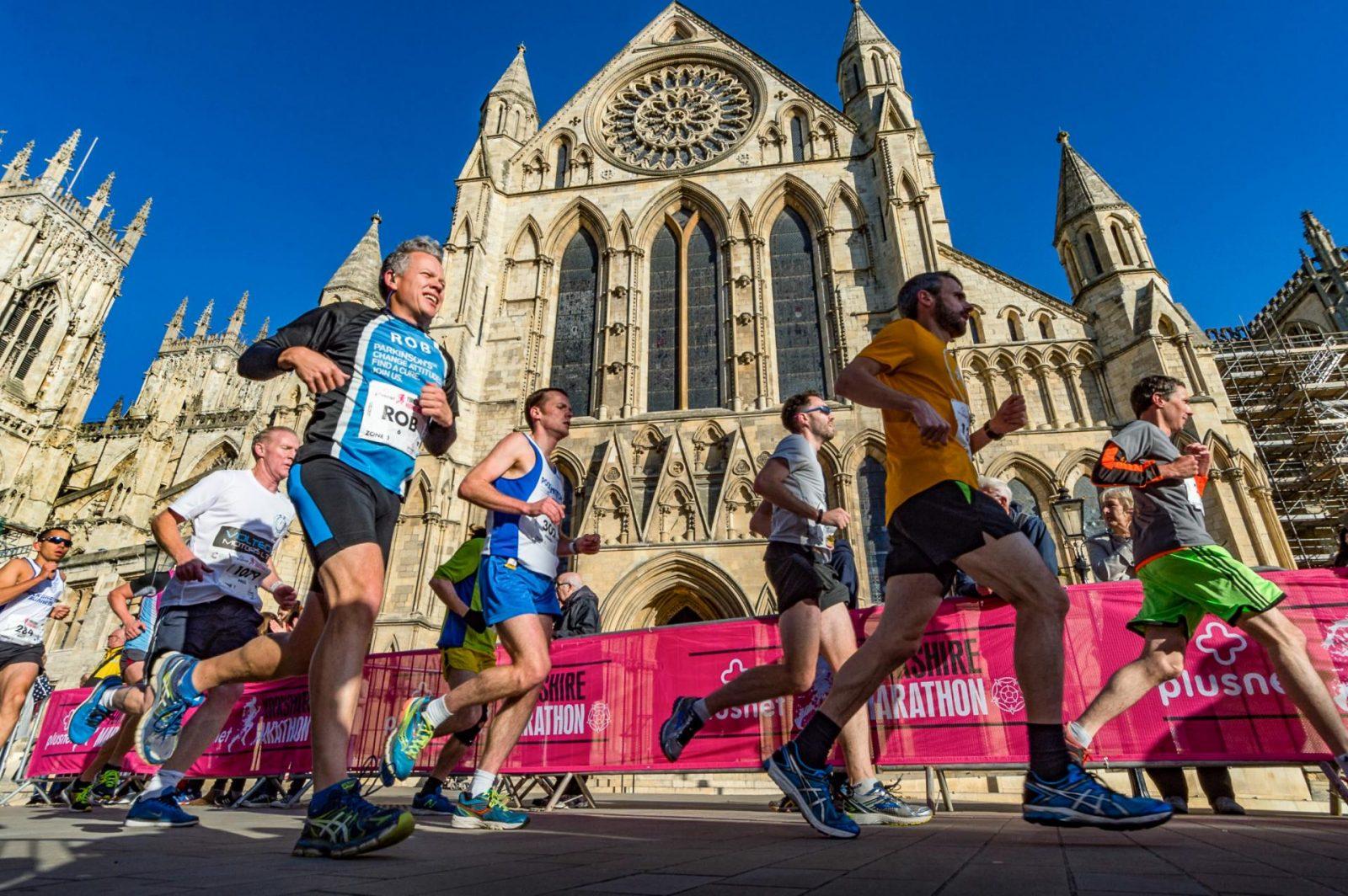 Rob Deering York Marathon 2016