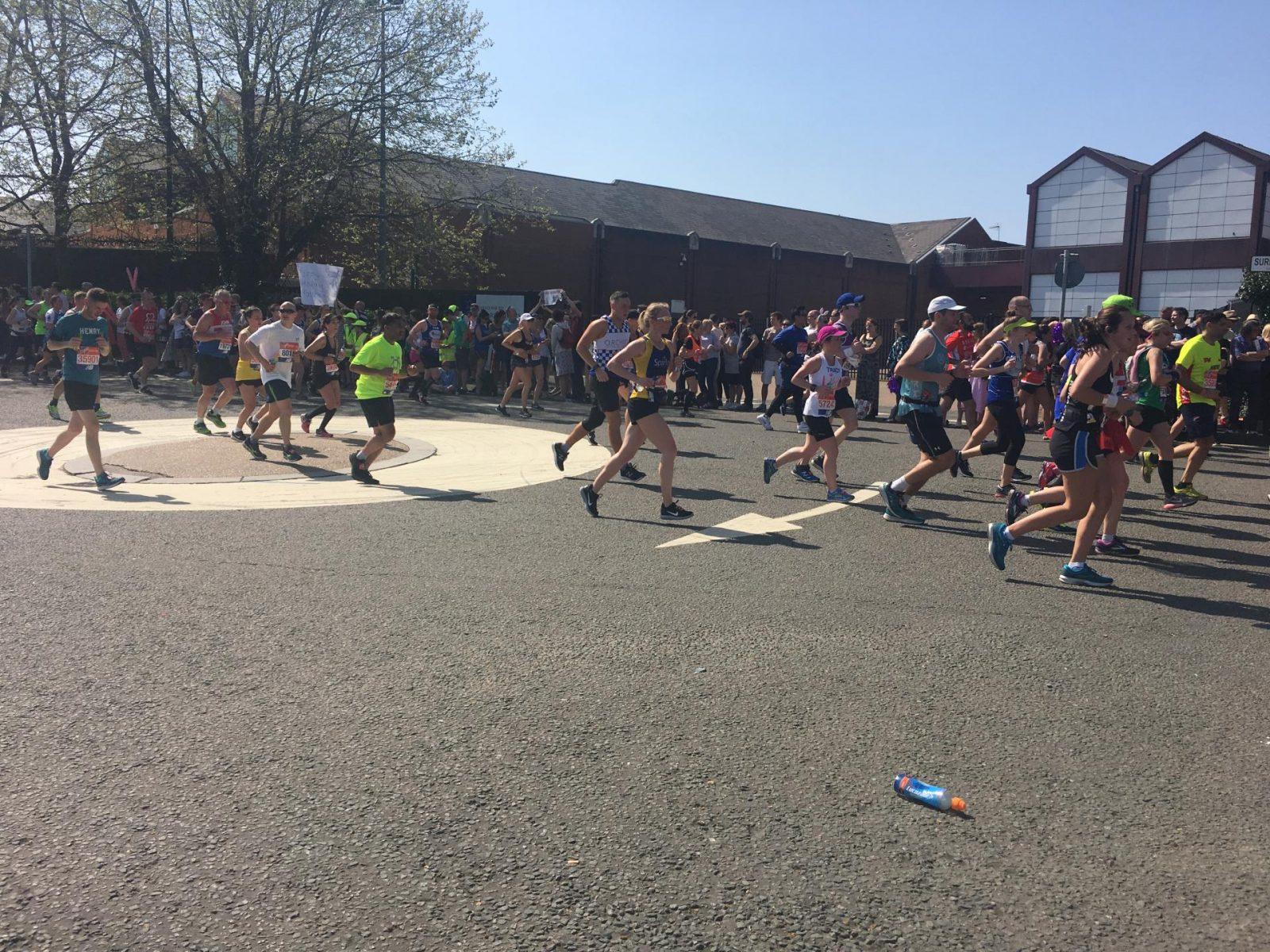 London Marathon spectators