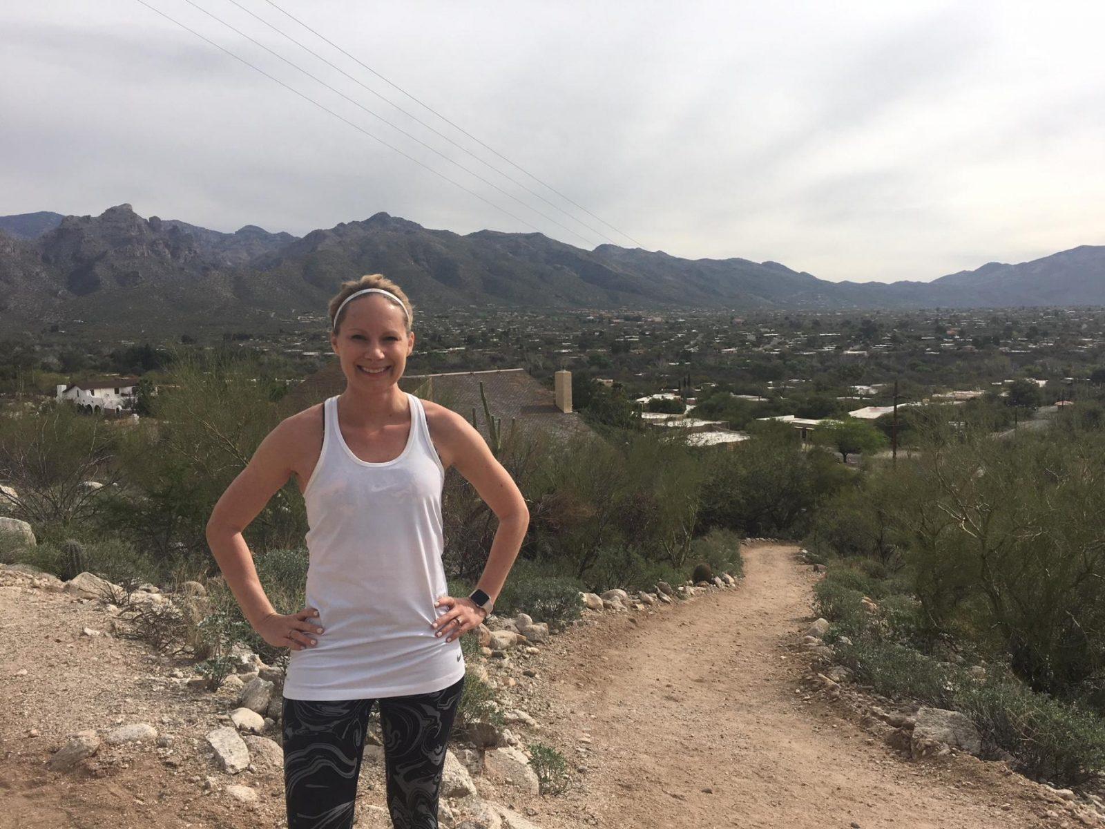 Canyon Ranch running path