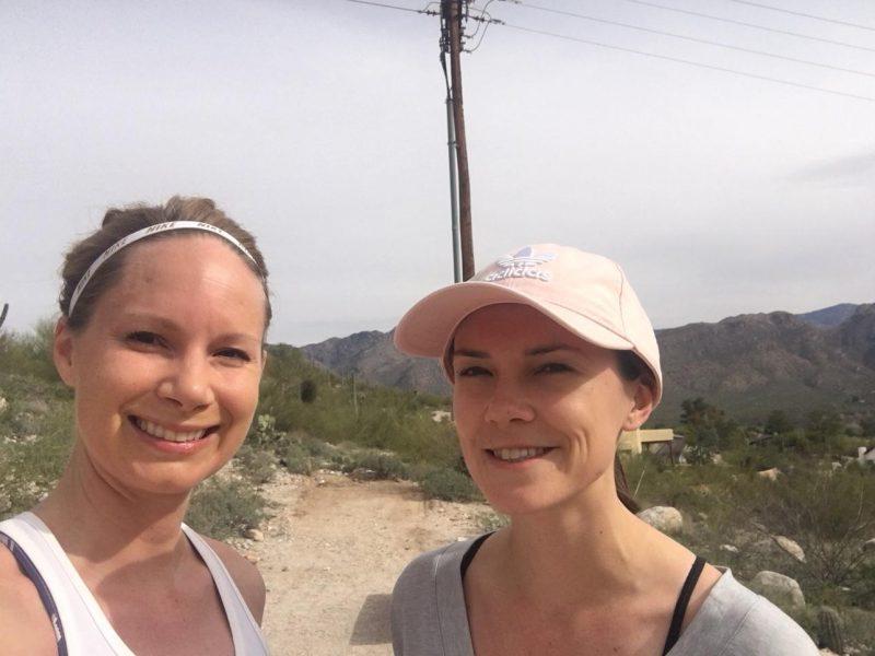 A run in Canyon Ranch