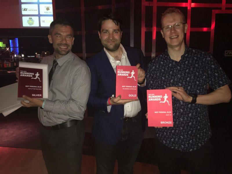 2018 Best Blog Running Award