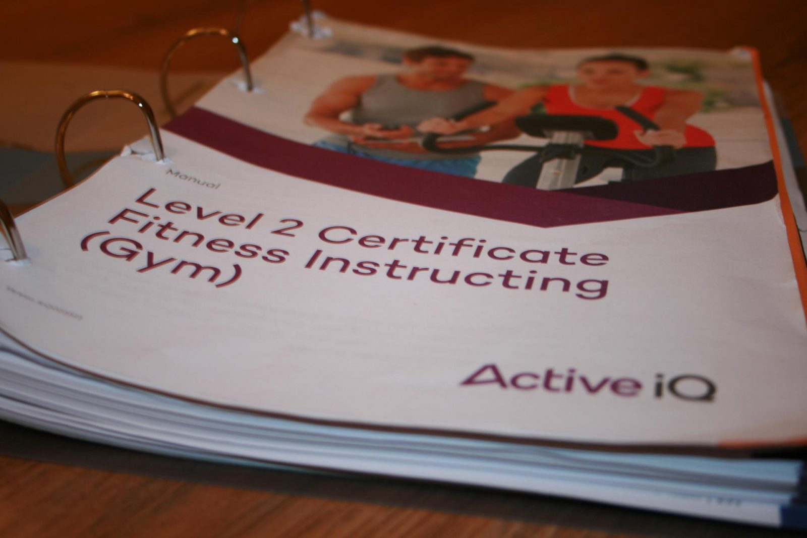 fitness instructor manual