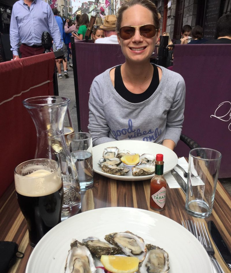Oysters from Galway
