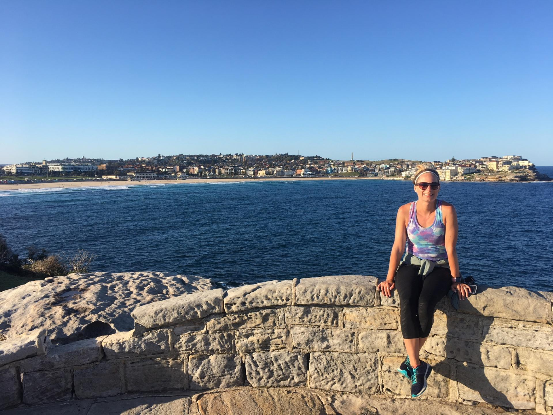 Running from Bondi Beach to Coogee
