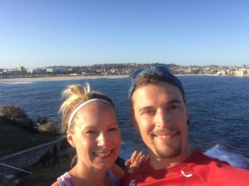 Running from Bondi Beach to Coogee