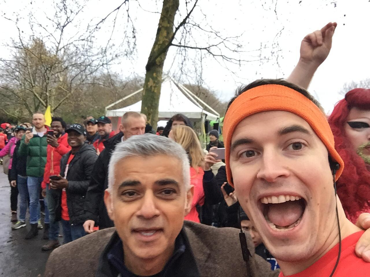 Sadiq Khan Red Run