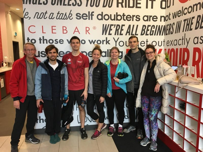 Family CycleBar in Toronto