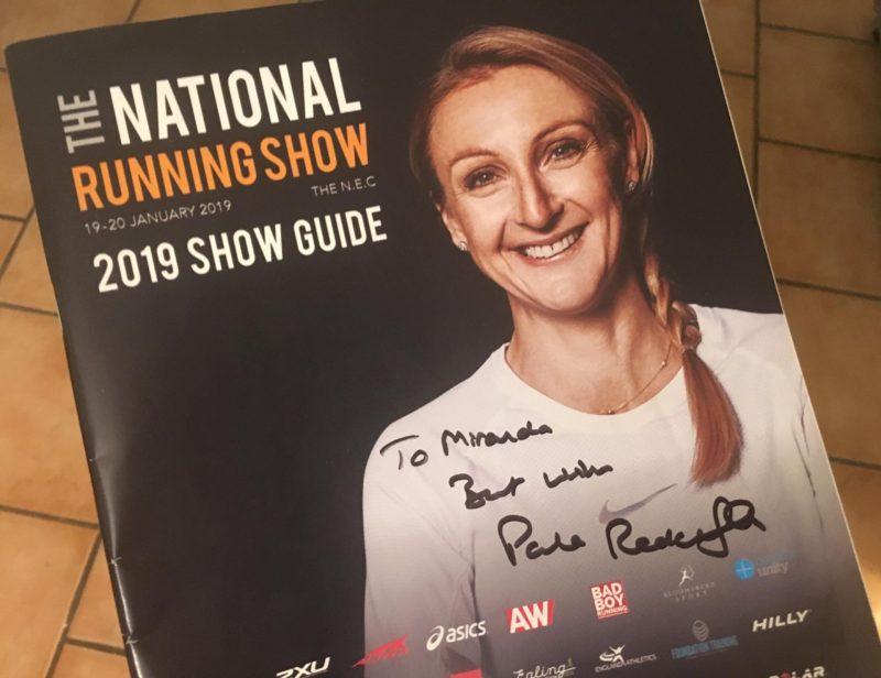 Paula Radcliffe autograph